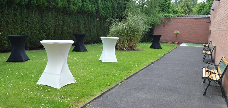 Réception au jardin